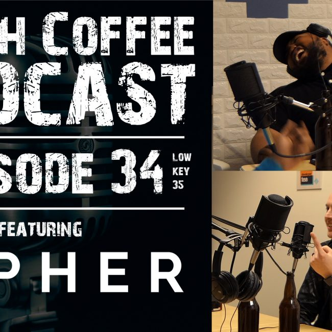 Trash Coffee Podcast Interviews Cipher